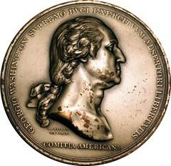 Washington before Boston medal