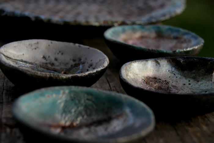 Raku plates - Giveaway