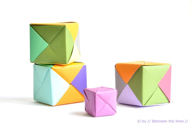 Cinema Saturdays: How to Make an Origami Cube - FaveCrafts - photo#49