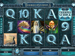 Thunderstruck 2 Slot Machine