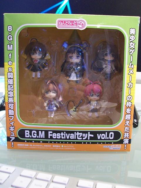 Nendoroid Petit B.G.M. Festival Box