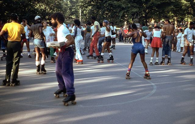 Skaters in Central Park, 1984 (Robbie McIntosh)
