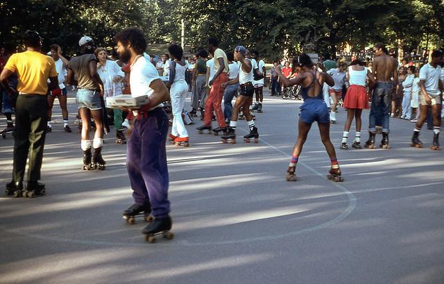 Skaters in Central Park, 1984 (Robbie McIntosh)