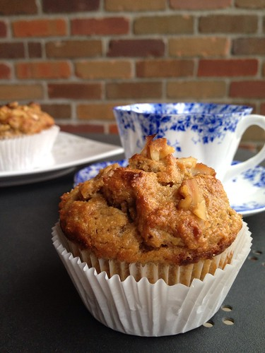 Banana pick-me-up muffins 3