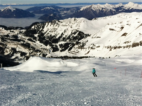 Empty pistes and sunshine - what a treat