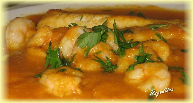 Rezeditas merluza en salsa de zanahoria - Cocinar merluza en salsa ...