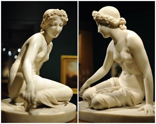 The Nymph Salmacis (diptych)