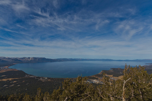 travel aerialview laketahoe bluesky sierranevada bluewaters touristattraction viewfromthetop freshwaterlake gondolaride wideangleshot canoneos7d julesnene juliasumangil sapphirebluewaters seconddeepestlakeintheus shotfromheavenlyskiresort viewfromsouthlaketahoe wherecaliforniaandnevadameet