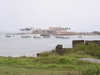 Elmina Castle in the distance (Ghana 2005)