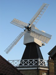 Sails from nearby, Wimbledon Windmill