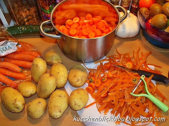 Kartoffel Möhren Stampf