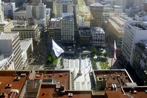 Union Square, San Francisco (by: Wally Gobetz, creative commons license)