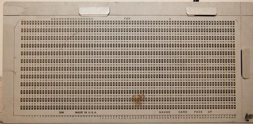 IBM Gauge card