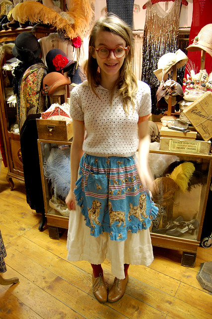 lovely girl from the vintage emporium