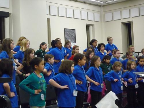 Ana starts at Children's Festival Chorus