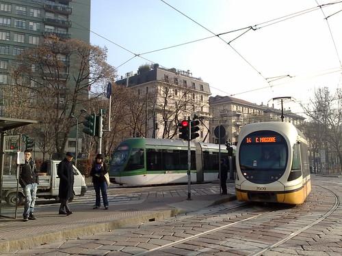 L'arrivo dei tram by durishti