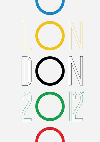 2012 London Olympics poster (unofficial art work)