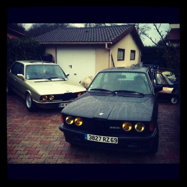 BMW e12 525 e21 323i