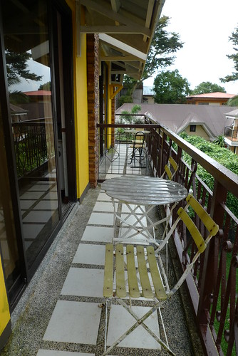 Keni Po Rooms - balcony