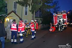 Feuer Querfeldstraße 17.01.12