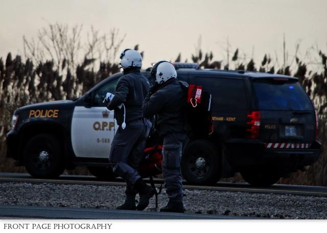 ORNGE - C-GYNP Paramedics - C-K O.P.P. - 6-588 - 401 EB MVC