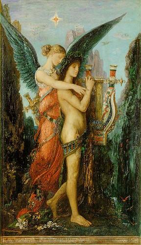 Muse 344px-Moreau,_Gustave_-_Hésiode_et_la_Muse_-_1891