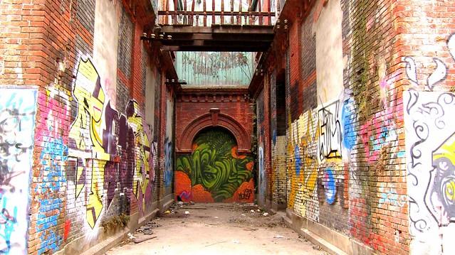 moganshan viertel shanghai 2012 - graffiti künstler unbekannt