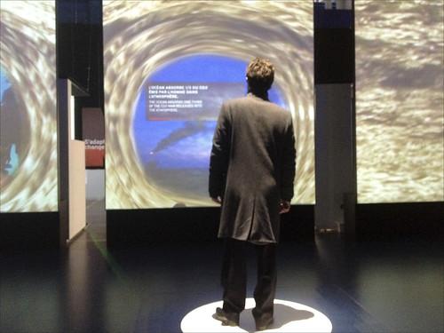 """Exposition """"Océan, climat et nous"""" (Cité des sciences)"""