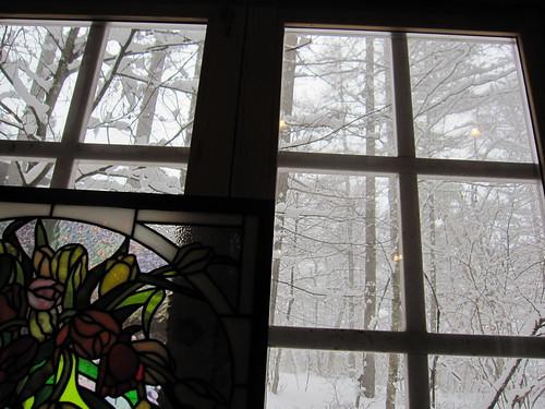 雪で景色がかすむ・・・ by Poran111