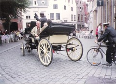 horse and carriage bruges july 1991