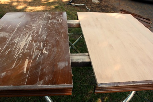 I Quickly Got To Work Sanding Down The One Side And Immediately I Could See  A Huge Difference.