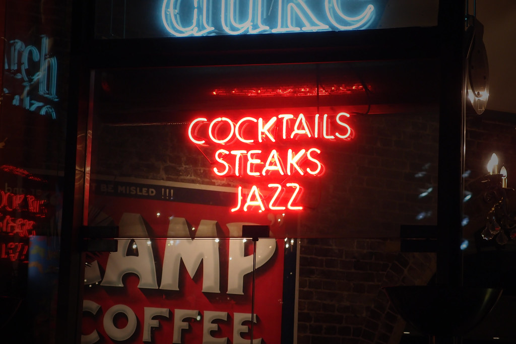 cocktails steaks and jazz