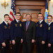 Agriculture Secretary Tom Vilsack with FFA National officers Jan 20, 2012