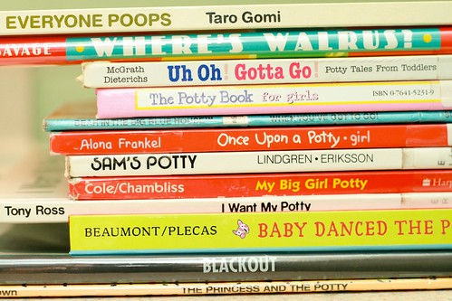 1/24/12 - Potty Books by {elke}