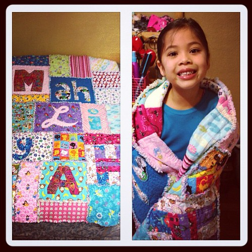 Mahliyah's Rag Quilt