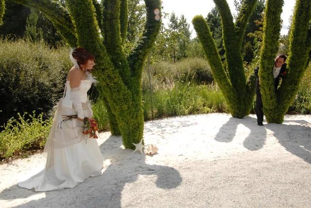mariage pose près zostera marine (crédit studioiziimagecom)  parc