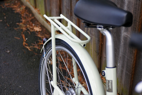 Paper Bicycle Rack