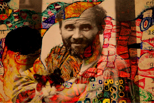 Klimt taged in Klimt