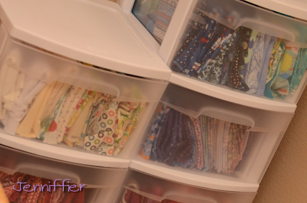 Fabric Drawers