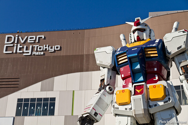 Gundam de Odaiba