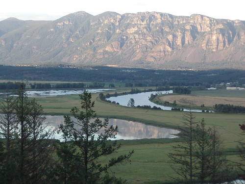 A view of the Kootenai River from the Boundary Connections project in Idaho. U.S. Forest Service photo.