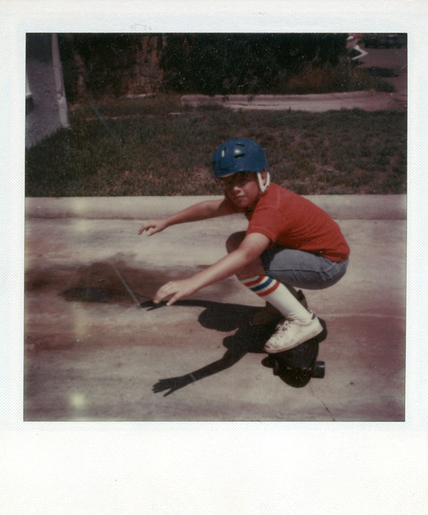 Skateboard Polaroid