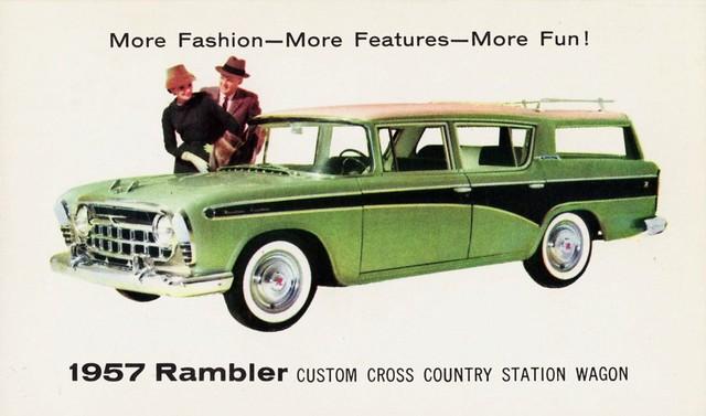 1957 rambler custom cross country station wagon flickr. Black Bedroom Furniture Sets. Home Design Ideas