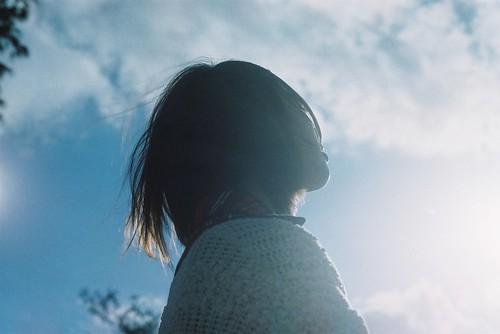 無料写真素材, 人物, 女性  アジア, 人物  横顔・横を向く