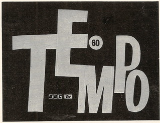 "BBC TV title graphics for ""Tempo 60"", 1960"