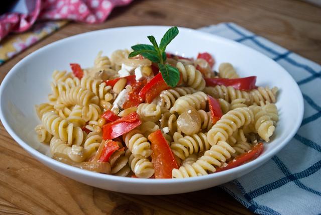 Mediterranean Pasta-5
