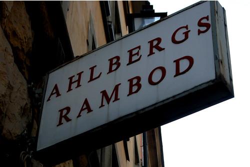 Ahlbergs rambod