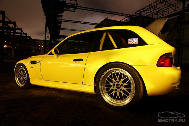 S50 to S62 Conversion | 1999 M Coupe | Dakar Yellow | Gray/Black