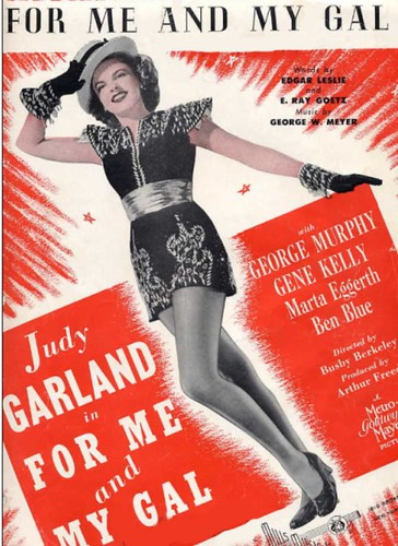 1942 Movie sheet music -Judy Garland
