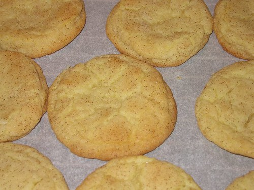Snickerdoodles, from Cook's Illustrated's The Best Recipe. by Leenechan